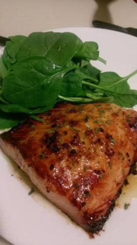 Honey Buttered Salmon